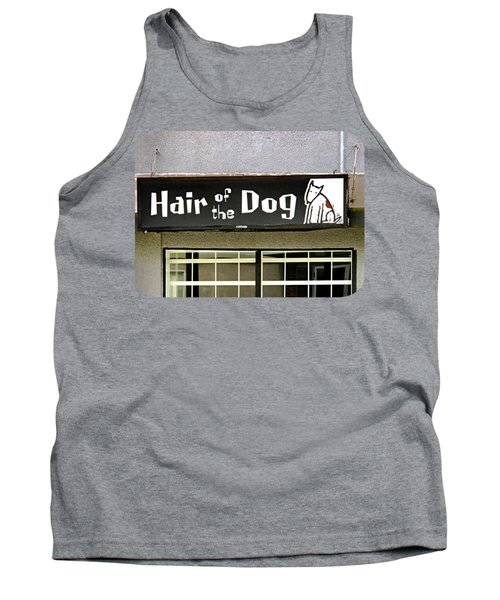 Tank Top featuring the photograph Gone To The Dogs by Ethna Gillespie