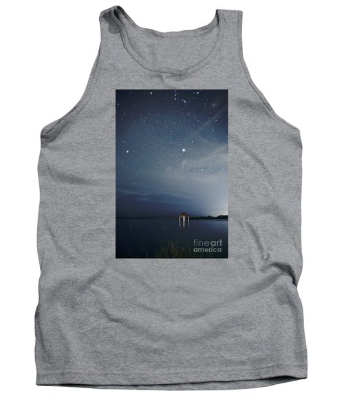 Tank Top featuring the photograph Good Night Dreams by Yuri Santin