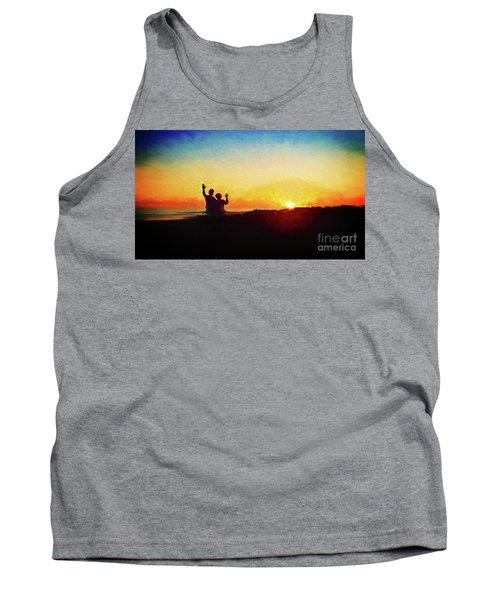 Goodnight Mr. Sun  Tank Top