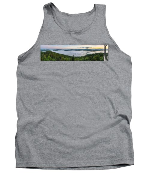 Goodnow Mountain Panorama Tank Top