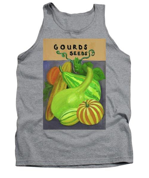 Gourd Seed Packet Purple Tank Top