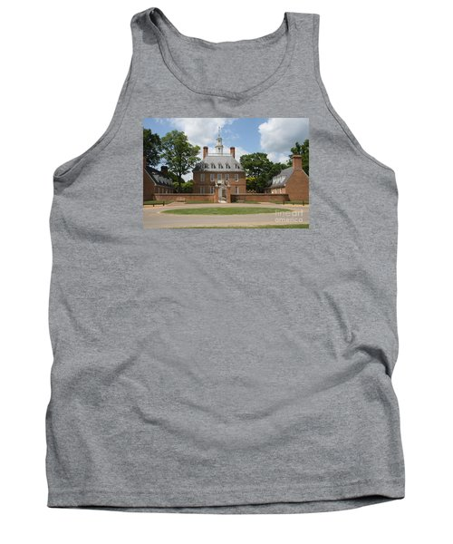Governers Palace - Williamsburg Va Tank Top by Christiane Schulze Art And Photography