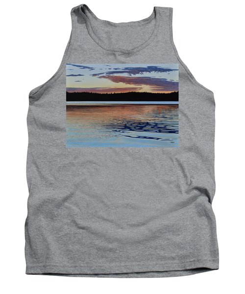 Tank Top featuring the painting Graham Lake by Kenneth M Kirsch