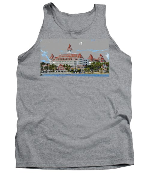 Grand Floridian In Summer Tank Top