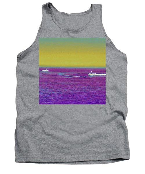 Purple Sea Tank Top