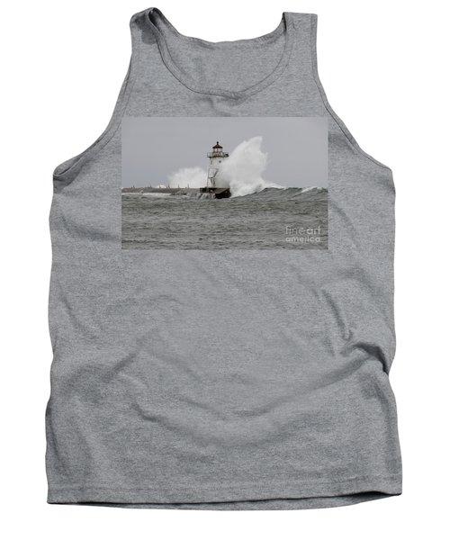 Grand Marais Lighthouse Tank Top