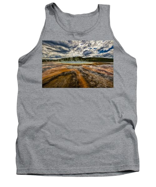 Grand Prismatic Spring Tank Top