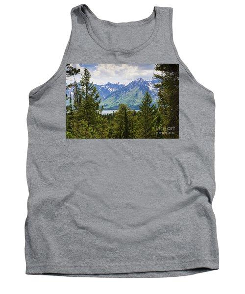 Grand Teton Mountains Tank Top