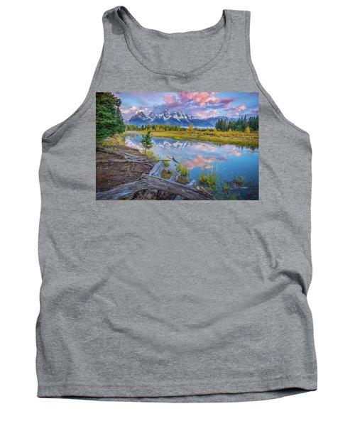 Grand Teton Sunrise Reflection Tank Top