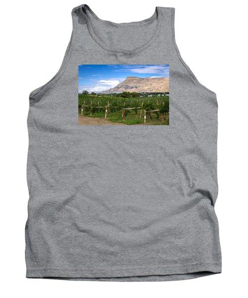 Grand Valley Vineyards Tank Top by Teri Virbickis