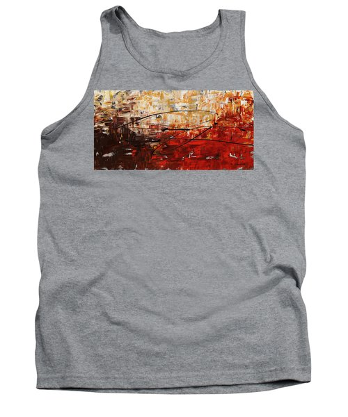 Tank Top featuring the painting Grand Vision by Carmen Guedez