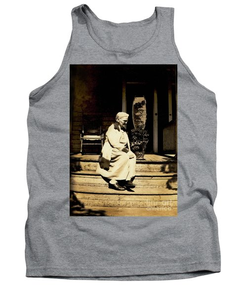 Tank Top featuring the photograph Grandma Jennie by Paul W Faust - Impressions of Light