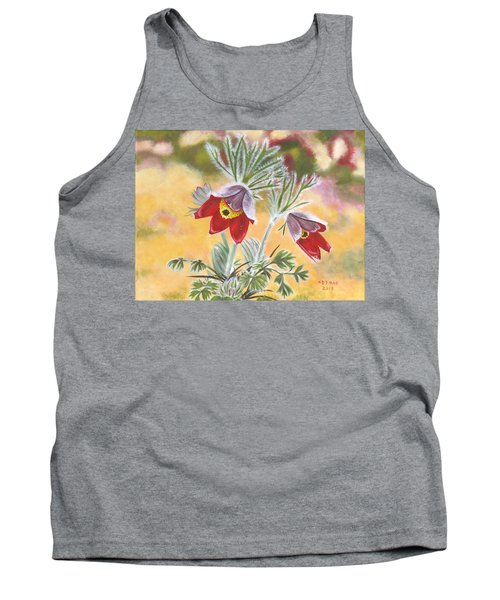 Granny Flowers Tank Top