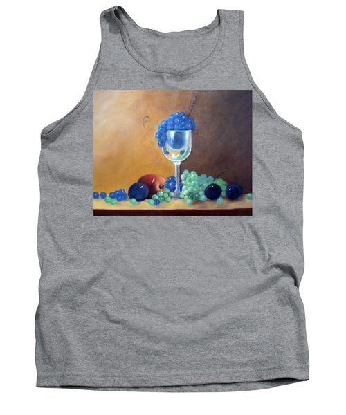 Grapes And Plums Tank Top by Susan Dehlinger