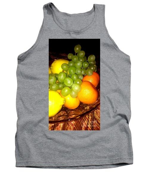 Grapes, Mandarins, Lemons Tank Top