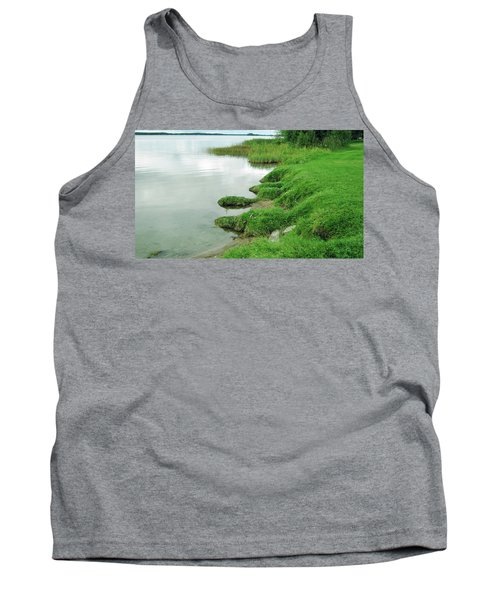 Grass And Water Tank Top