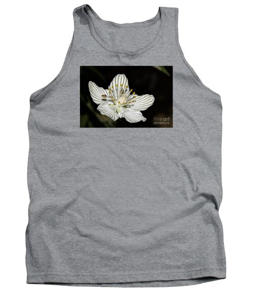 Tank Top featuring the photograph Grass Of Parnassus by Barbara Bowen