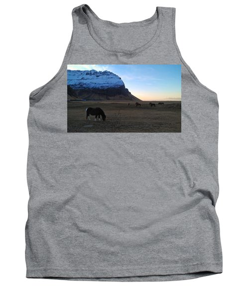 Grazing At Dawn Tank Top