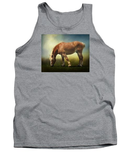 Grazing Belgian Tank Top by David and Carol Kelly