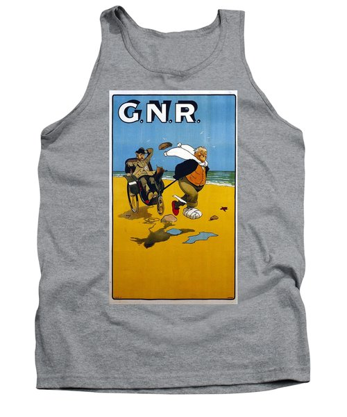 Great Northern Railway, England - Retro Travel Poster - Vintage Poster Tank Top