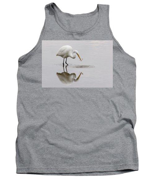 Great White Egret Tank Top
