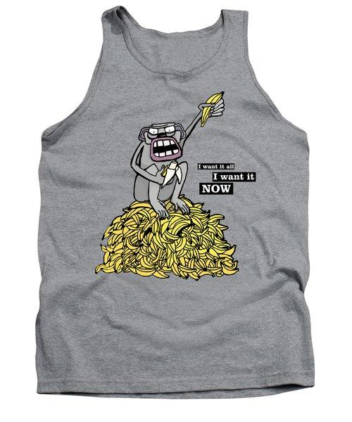 Greedy Monkey Tank Top