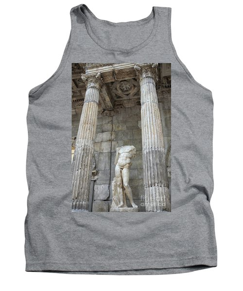 Tank Top featuring the photograph Greek Statue by Patricia Hofmeester