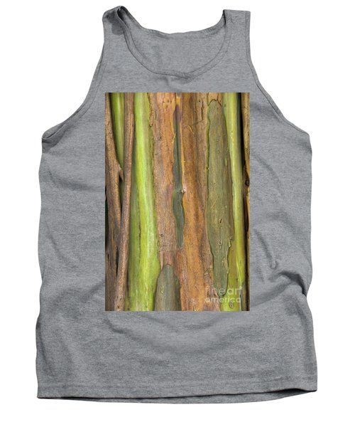 Tank Top featuring the photograph Green Bark 3 by Werner Padarin