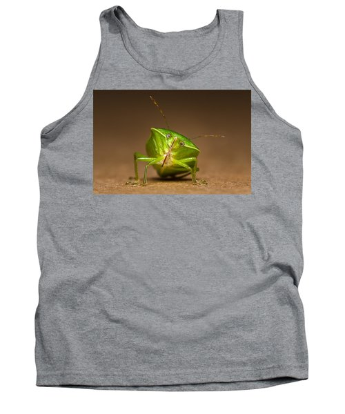Green Bug Tank Top