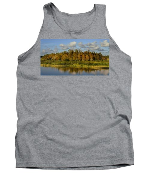 Green Cay In Autumn Tank Top