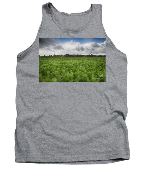 Tank Top featuring the photograph Green Fields 4 by Douglas Barnard