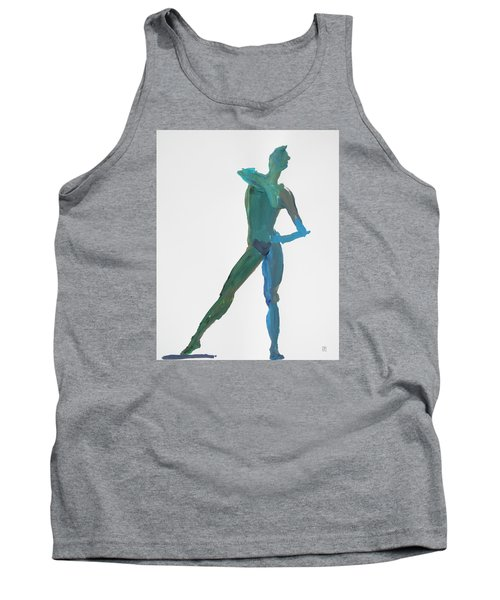 Green Gesture 2 Pointing Tank Top by Shungaboy X