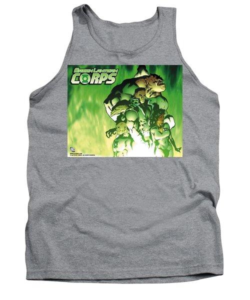Green Lantern Corps Tank Top