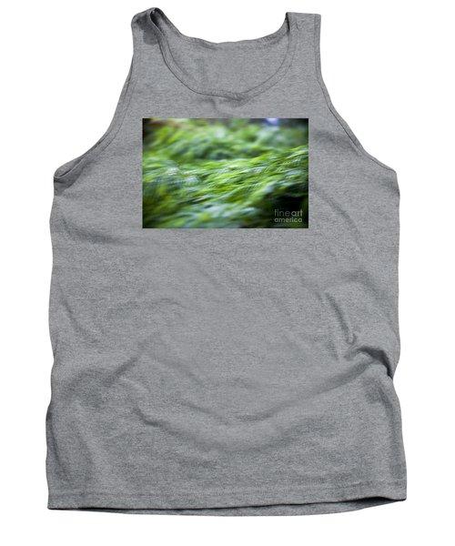 Green Waterfall 1 Tank Top by Serene Maisey