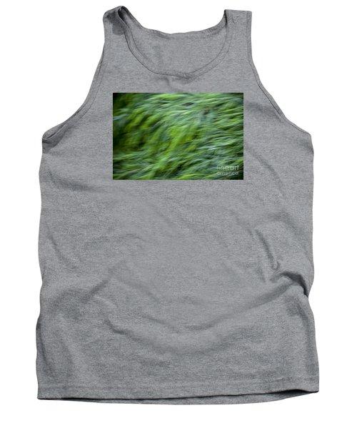 Green Waterfall 2 Tank Top