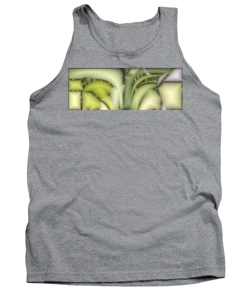 Greens Tank Top by Ron Bissett