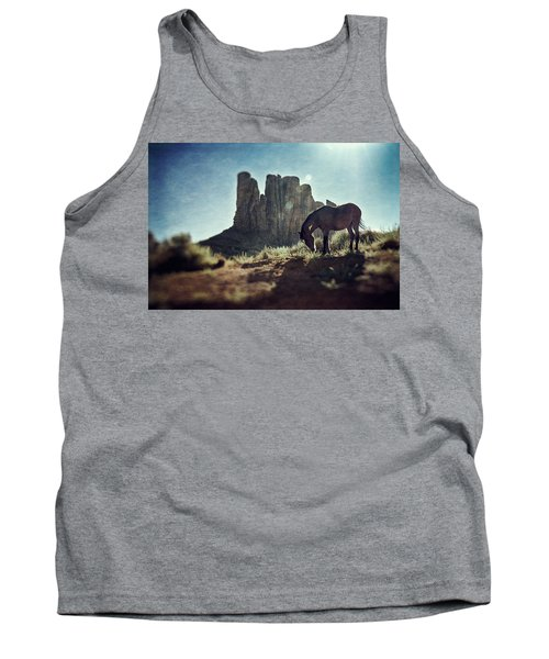 Greetings From The Wild West Tank Top