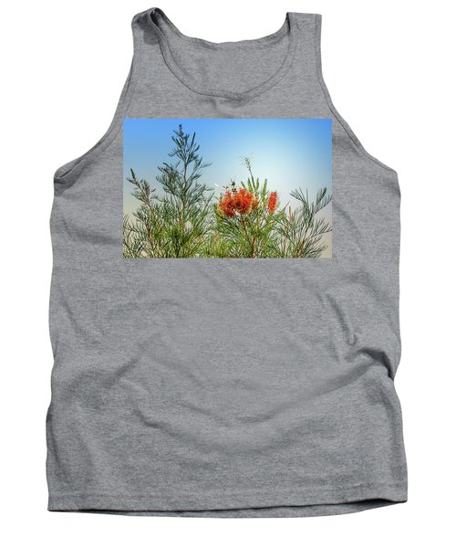 Grevillea With Moon Tank Top