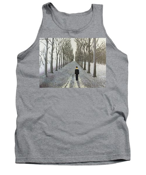 Grey Day Tank Top by Thomas Blood