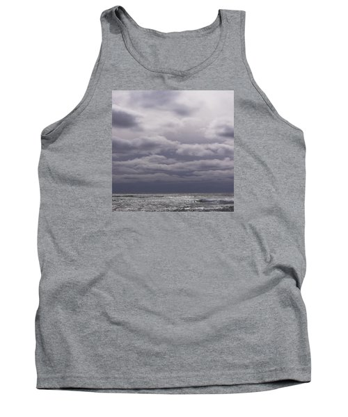 Tank Top featuring the photograph Grey Horizon by Adria Trail