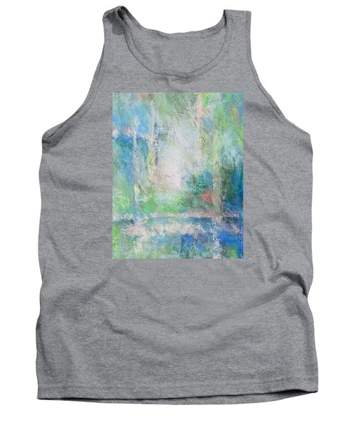 Grid Tank Top by Becky Chappell