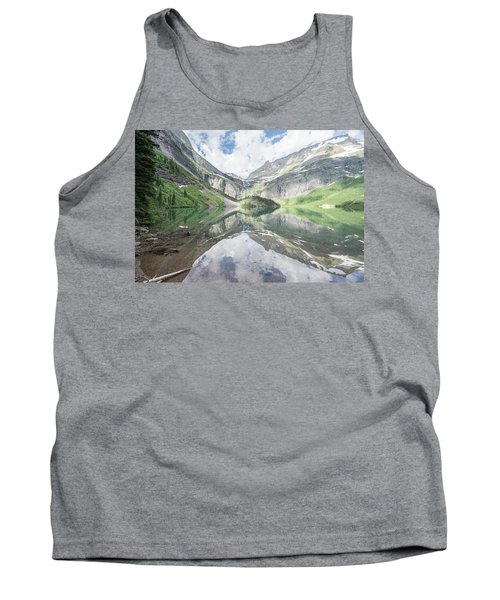 Grinnell Lake Mirrored Tank Top