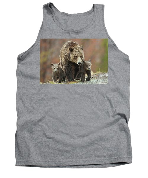 Grizzly Family Tank Top