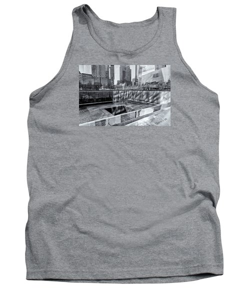 Tank Top featuring the photograph Ground Zero by Sabine Edrissi