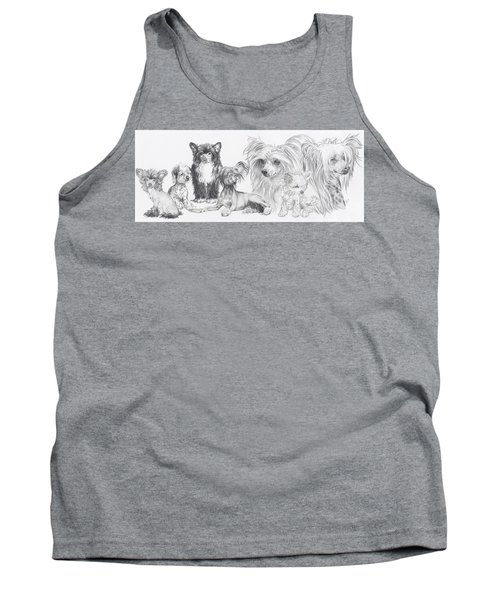The Chinese Crested And Powderpuff Tank Top