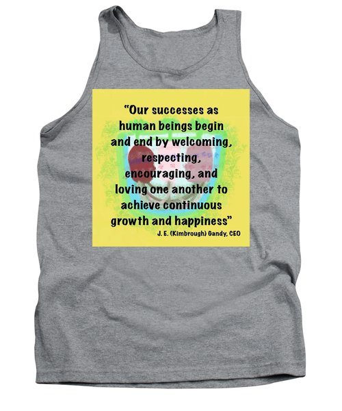 Growth With Humanity Tank Top