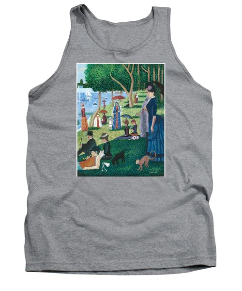 Guadalupe Visits Seuart Tank Top by James Roderick