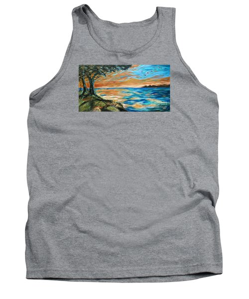 Guana Sunset Tank Top