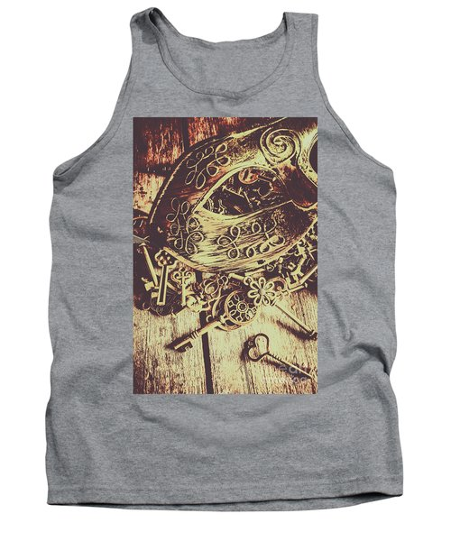 Guarding The Secrets Of Society Tank Top