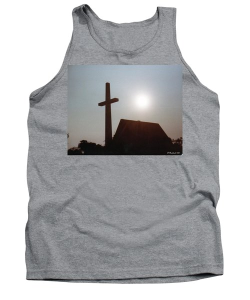 Tank Top featuring the photograph Guiding Light by Betty Northcutt